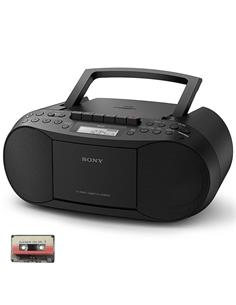 SONY CFDS70 RADIO CD CASSETE BLACK