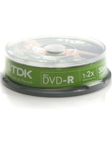 TDK DVD-R1.4 CBEB10 UNA CARA (TR. 10 V.CAM)