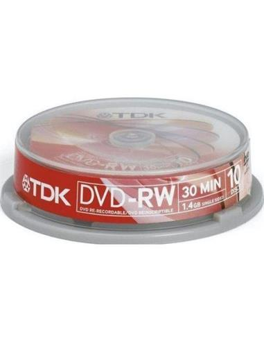 TDK DVD+RW1.4 CBEB10 UNA CARA (TR 10 V.CAM)
