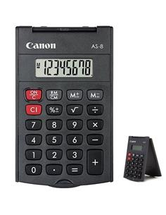CANON AS-8 CALCULADORA