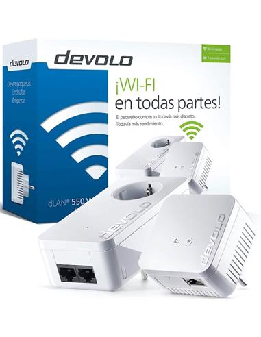 DEVOLO 09637  DLAN 550 WIFI REPETIDOR