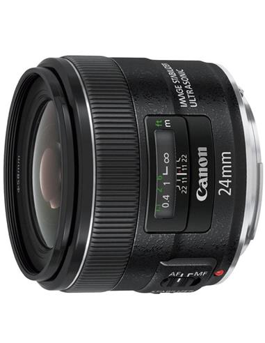 CANON EF 24MM F/2.8 IS USM OBJETIVO...