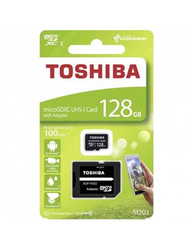 TOSHIBA MICRO SDXC UHS-I 100MB 128GB CLASS10