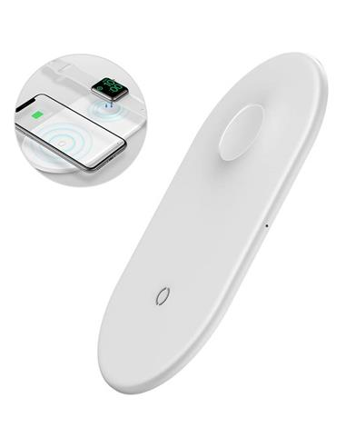 BASEUS WX2IN1-02 WIRELESS CHARGER 2/1...