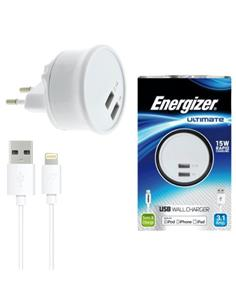 ENERGIZER AC2UUNUIP5 CARGADOR 3.1 + CABLE USB