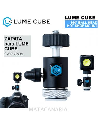 LUME CUBE HOT SHOE MOUNT 360º