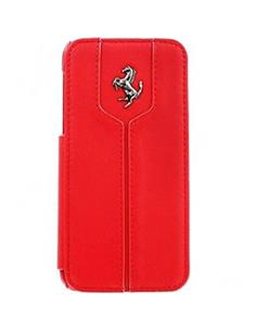 FERRARI FEMTFLBKPMRE LEATHER IPH 5C MINI RED