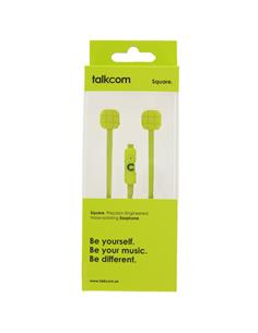 TALKCOM 25 SQUARE AURICULAR LIME
