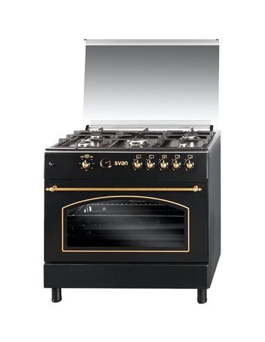 Svan Svk9561Fn Cocina 90X60 Black
