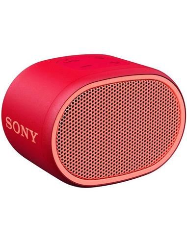 SONY SRS-XB01 EXTRA BASS ALTAVOZ RED